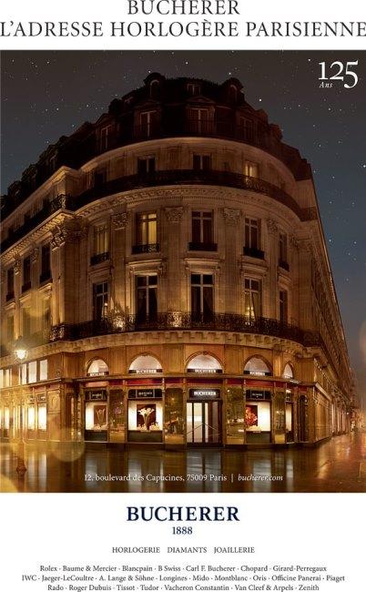 Boutique Bucherer Paris
