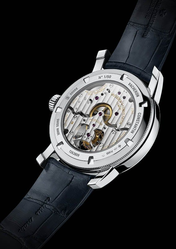 Garde-temps Patrimony Traditionnelle tourbillon 14 jours Collection Platine Excellence