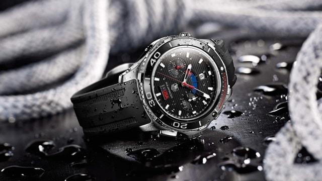 Aquaracer 500m calibre 72 Countdown Automatic Chronograph 43 mm