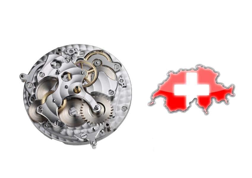 Horlogerie par pays, la Suisse