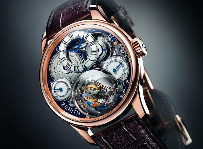 Montre Zenith Christophe Colomb Hurricane Grand Voyage