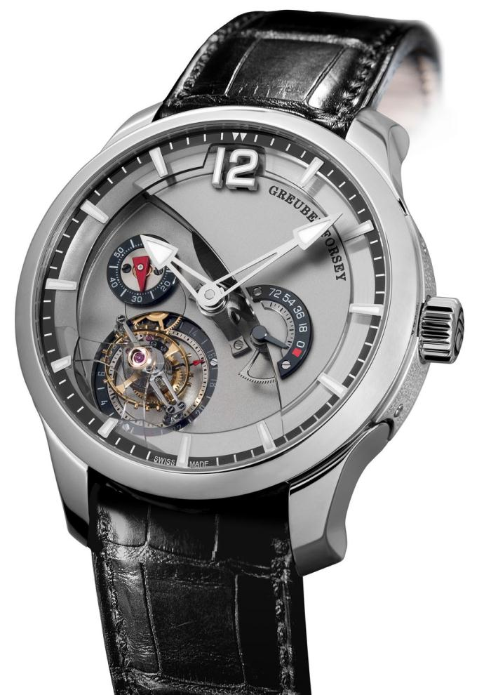 GF01 Tourbillon 24 secondes Contemporaine Or gris