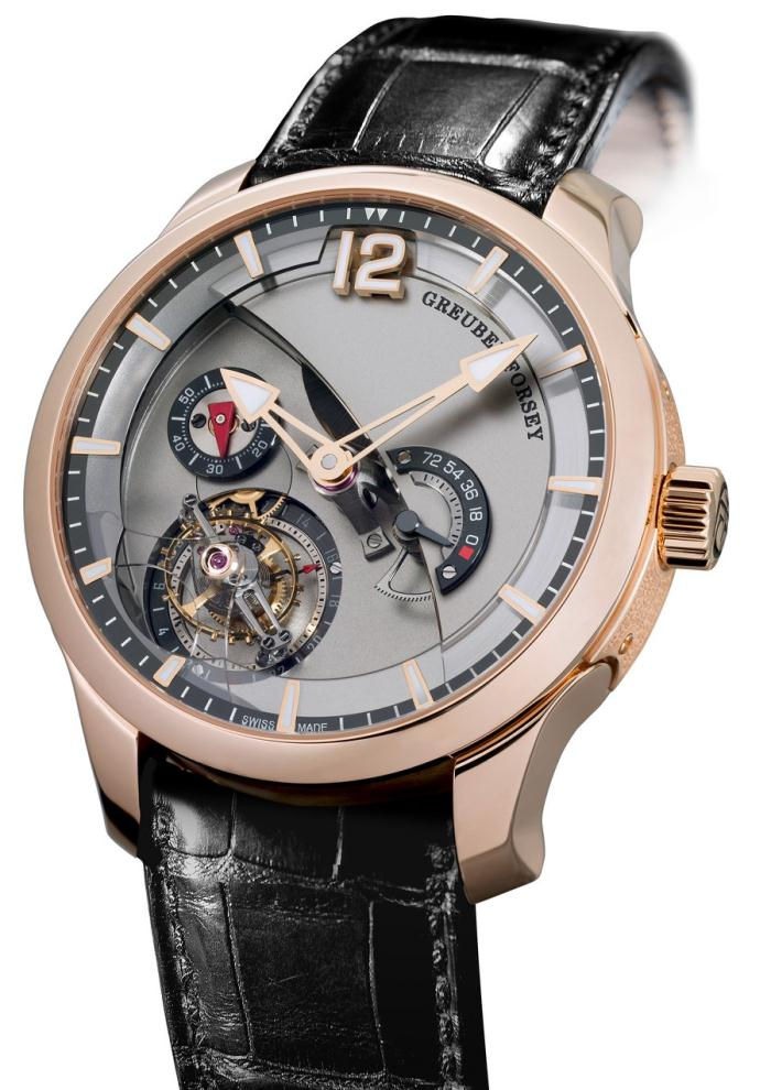 Greubel Forsey Tourbillon 24 secondes Contemporaine Or rouge