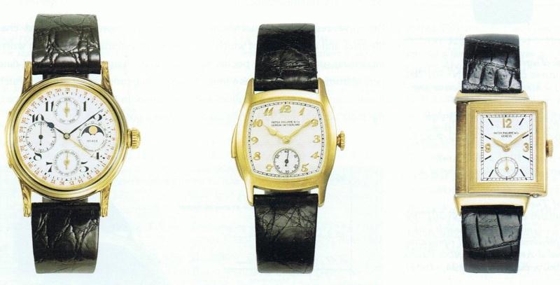 Montre bracelet 1920-1940 Patek Philippe
