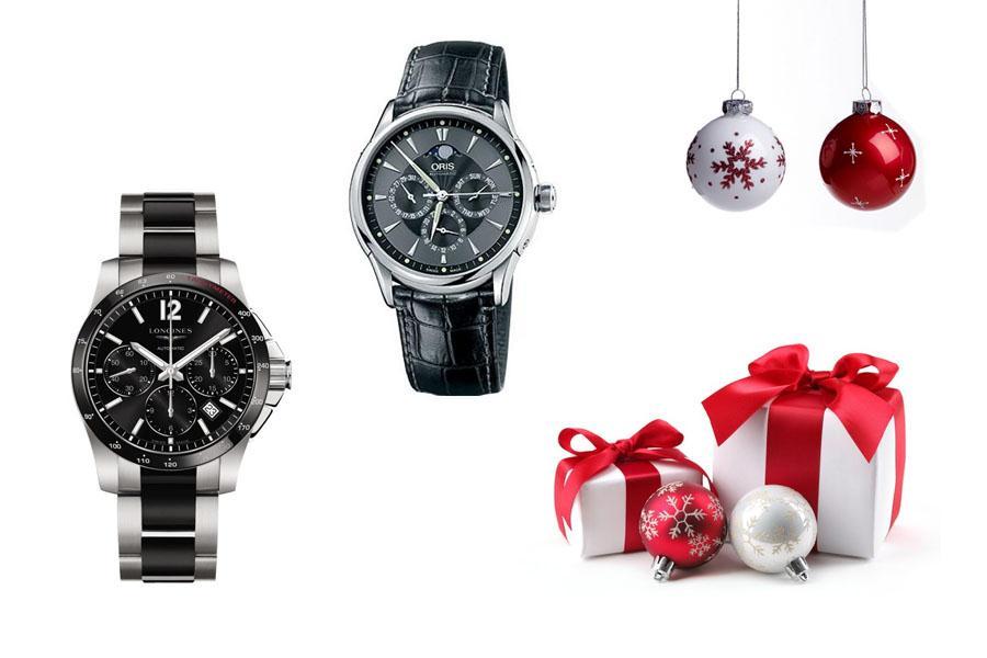 Cadeau de Noël montre