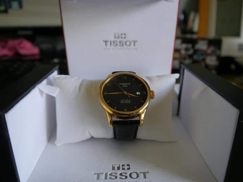 Tissot Le Locle Automatique Chronomètre PVD or rose