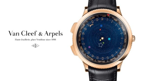 Montre Van Cleef & Arpels Midnight Planétarium