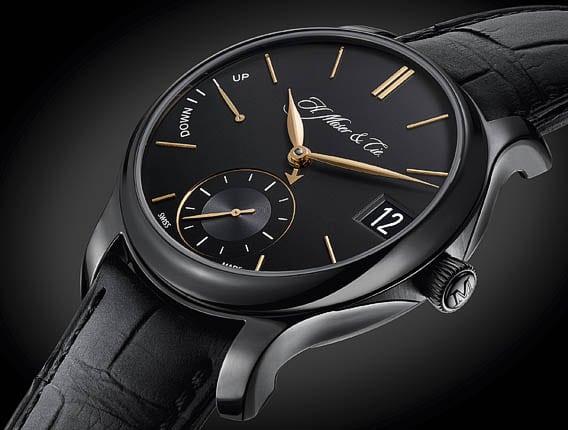 Montre Perpetual Calendar Black Edition de Moser