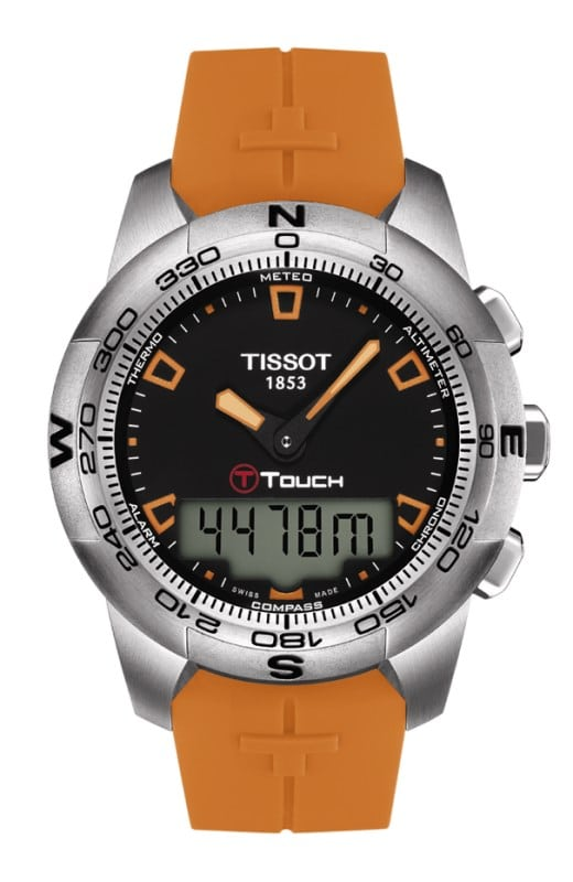Tissot T Touch 2 Caoutchouc Orange