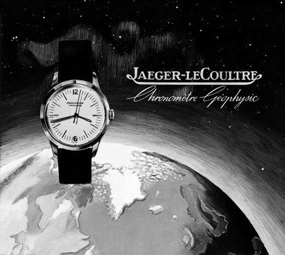 Jaeger Lecoultre Geophysic de 1958