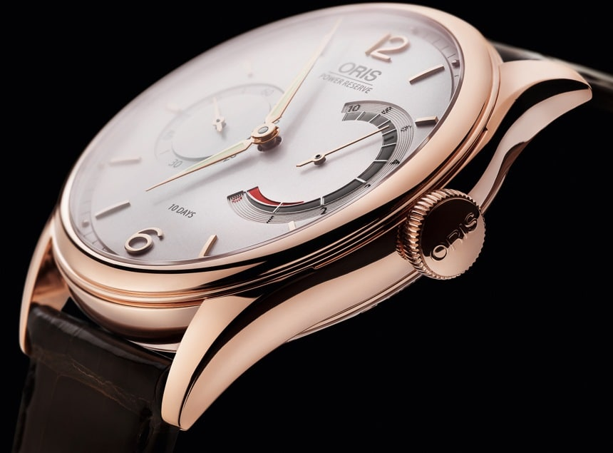 Oris 110 Years Limited Edition en or rose