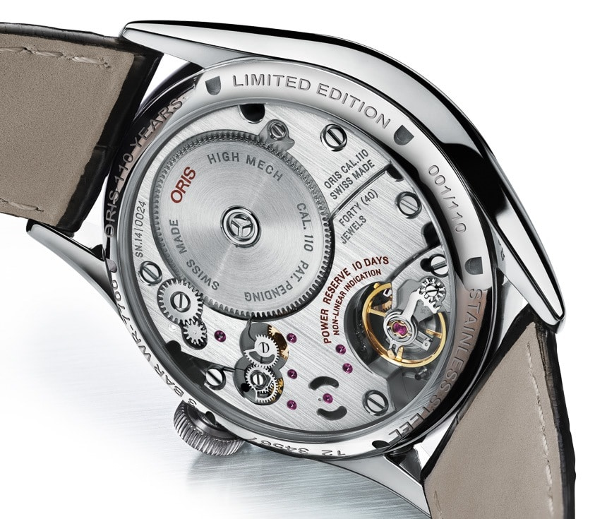 Oris 110 Years Limited Edition - fond saphir