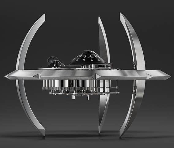 Starfleet Machine vue de côté