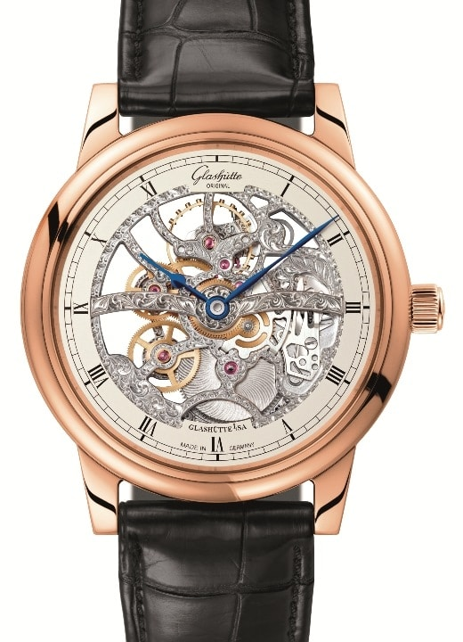 Montre Senator Manual Winding Skeletonized Edition