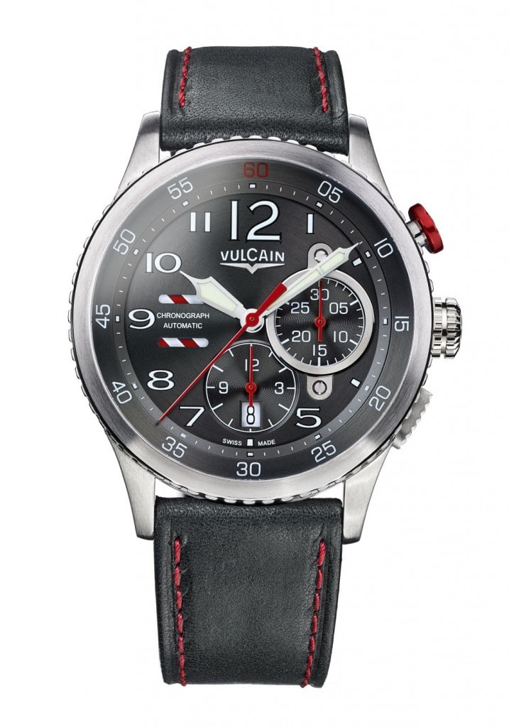 Vulcain Aviator Instrument Chronograph anthracite