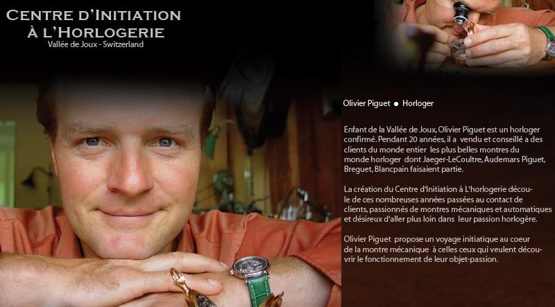 Horloger Olivier Piguet