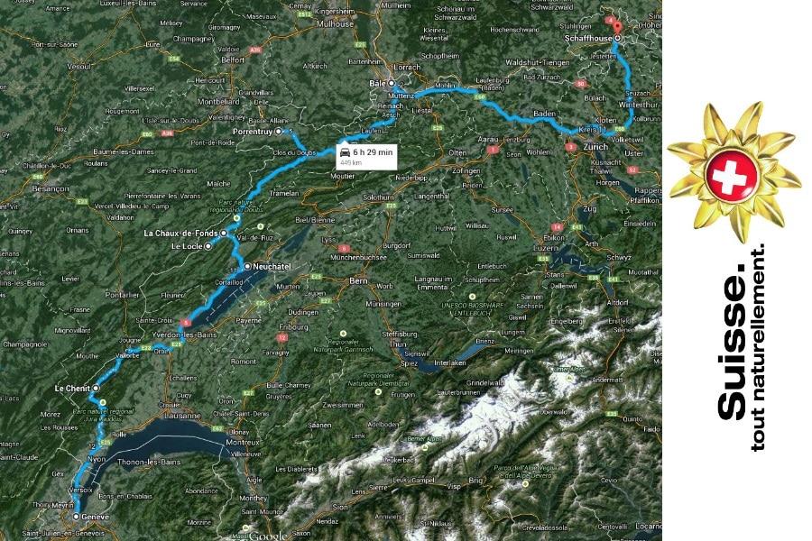 Tourisme horloger en Suisse