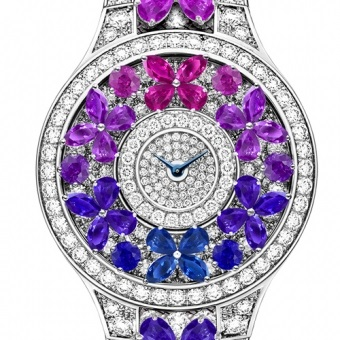 Graff Luxury Watches Montre Butterfly Multicolore