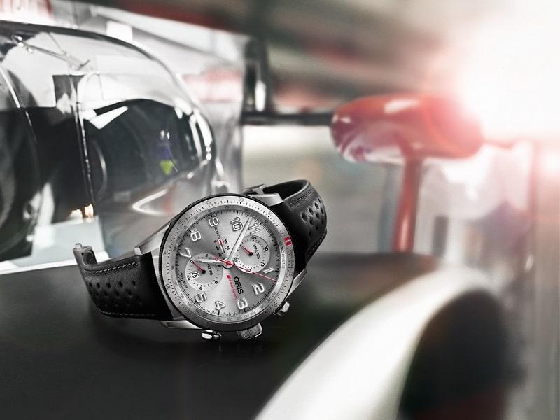 Oris-Audi-Sport-Limited-Edition sur une Audi R18