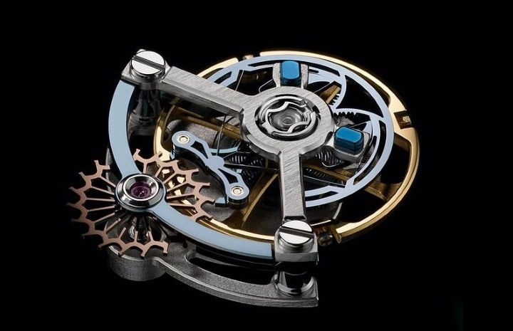 Ulysse Anchor Escapement avec balancier