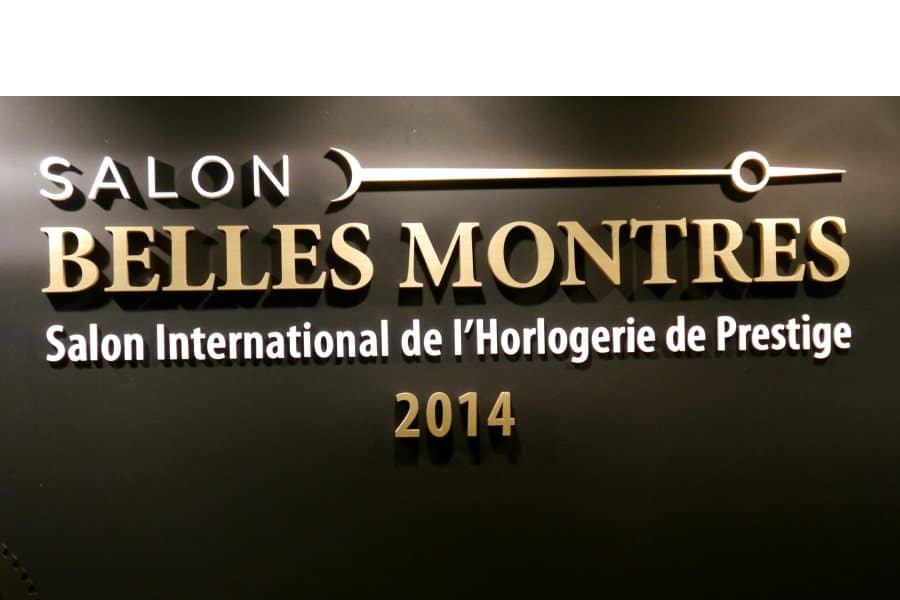 Salon BellesMontres 2014