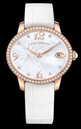 Girard Perregaux Cat's Eye Petite Seconde or rose