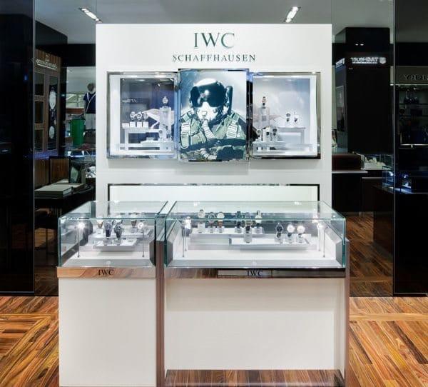 Espace de haute horlogerie Printemps Haussmann IWC