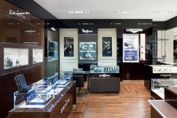 Espace de haute horlogerie Printemps Haussmann