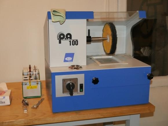 Machine à polir