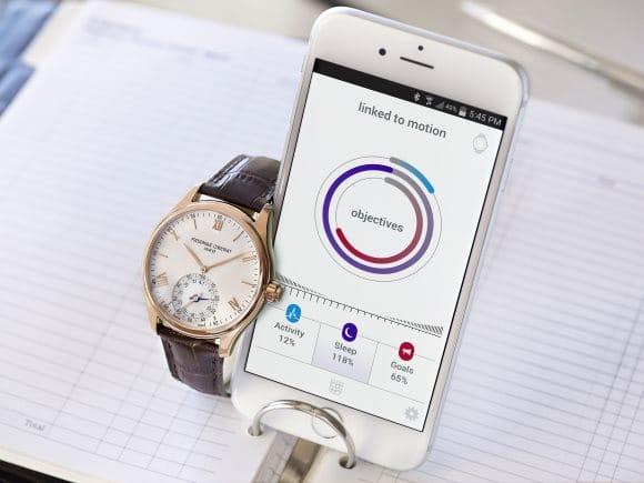 Frederique Constant montre connectée