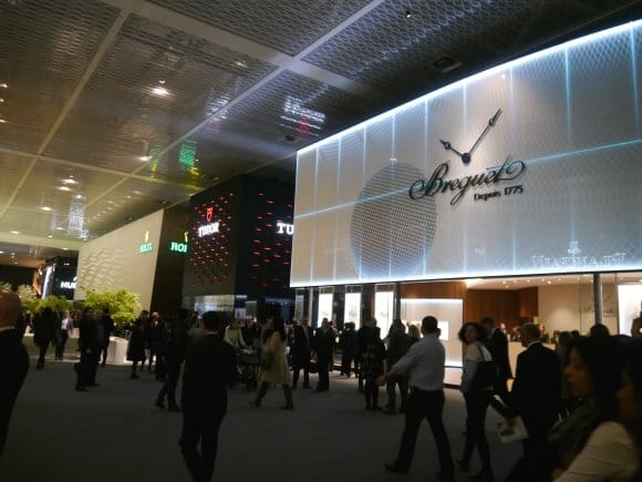 Les stands du Hall 1 Baselworld