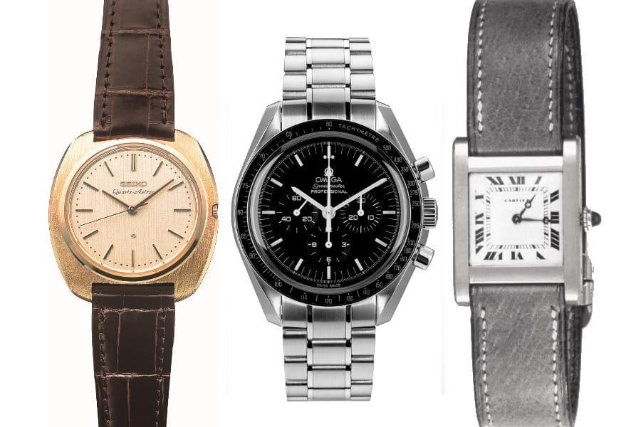 L'histoire des montres