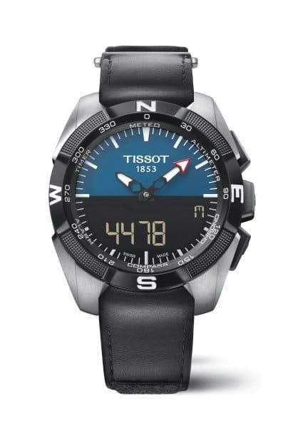 Tissot T Touch Expert Solar 2015 cadran bleu