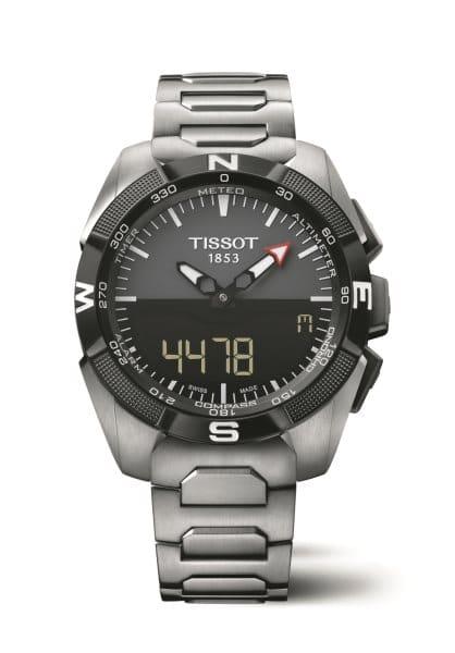Tissot T Touch Expert Solar 2015 grise et bracelet titane