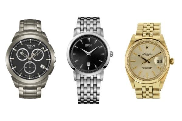 Bracelets de montres en métal