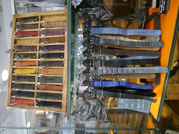 Bracelets en cuir NATO