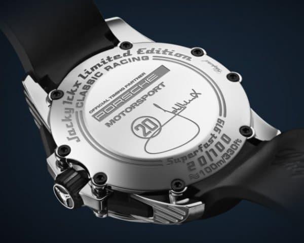 Fond de la montre Superfast Chrono Porsche 919 Jacky Ickx