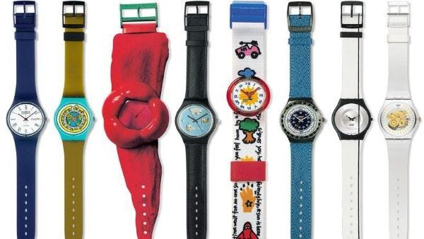 La gamme des montres Swatch à travers les époques