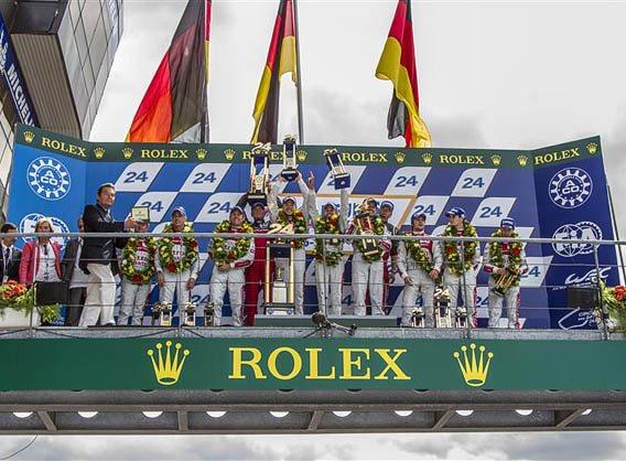 Rolex et les 24 heures du Mans