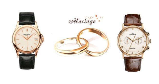 Montre pour mariage