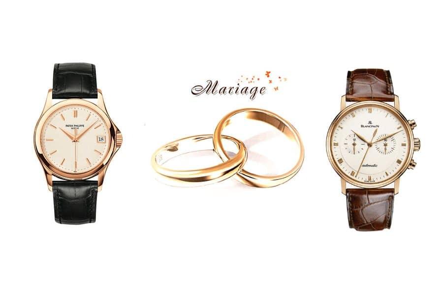 Montre mariage