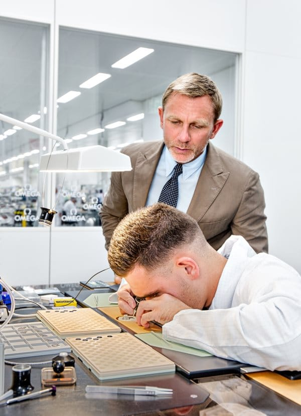 Daniel Craig is seen at the OMEGA Factory Visit in Switzerland_3