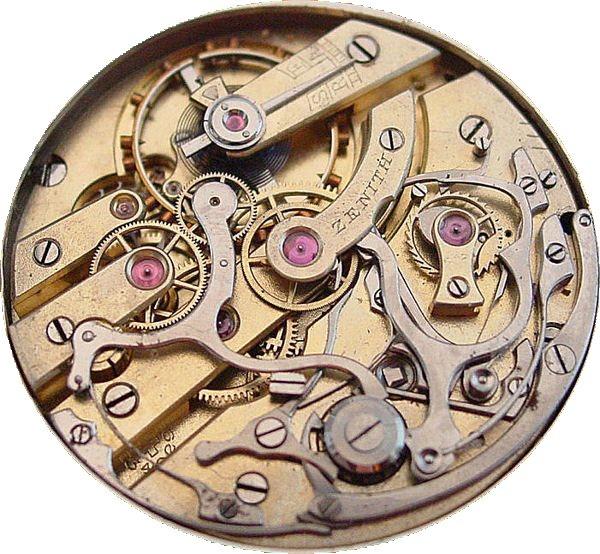 Ebauche d'un chronographe de poche