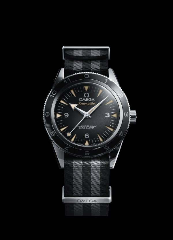 The OMEGA Seamaster 300 Bond_2015_black background