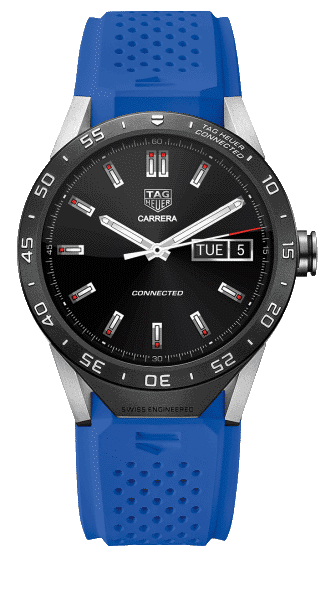 Tag Heuer Connected bleu