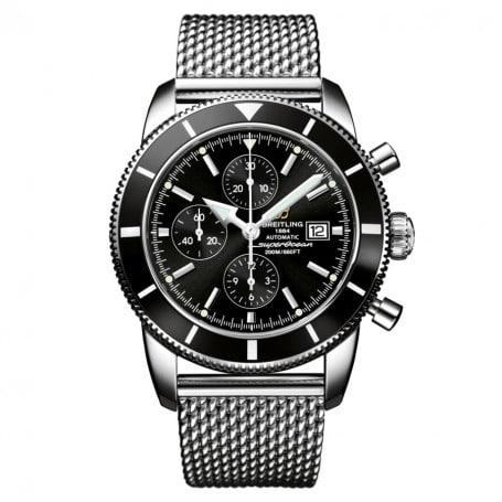 Aiguille des heures lance breitling-superocean-heritage-chronographe-automatique
