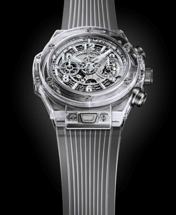 Montre transparente Hublot Big Bang Unico Sapphire