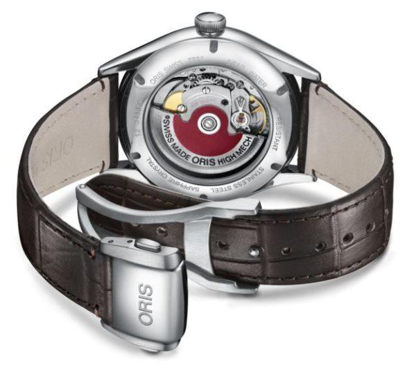 Oris Artelier Chronometer Date vue du calibre