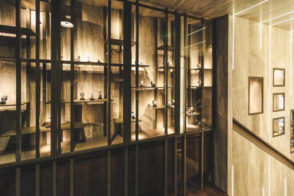 les Montres Collector- vitrine
