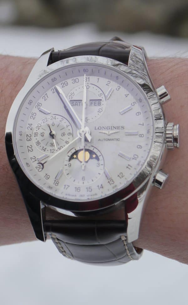 Chronographe Conquest Classic Moonphase